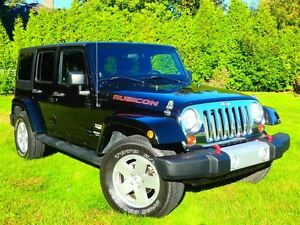 2011 Jeep WRANGLER UNLIMITED SAHARA AUTOMATIQUE (LOOK RUBICON)