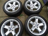 225 45 17 set Alloy Wheels and Tyres RENAULT TRAFIC VIVARO VW T5 T6