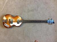 Violin Bass Guitar Beatles Style