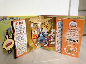 Alice in Wonderland Pop Up Book As Good As New