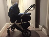 Uppa baby vista push chair and carry cot