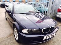 BMW 318 CI CONVERTIBLE 2.0 PETROL MANUAL BLUE 2003 PRIVET PLATE