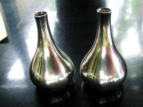 Vintage Dansk Design Taper Candle Holders Set of Tear Drop  Onion Shape Denmark