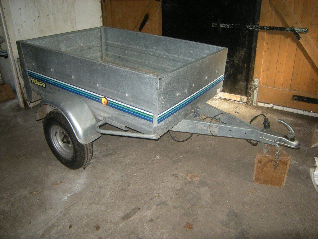 Trelgo Car Trailer with Drop Tailgate