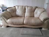 Latte 2 seater sofa +free 3seater