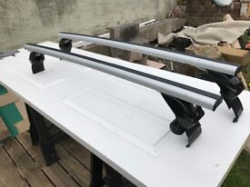 Roof bars for vw scirocco made from aluminium