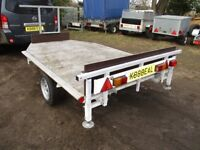 2010 GALVANISED 9 X 5-6 FLATBED TRAILER (FULLY BRAKED).................