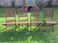 4 x John Lewis outdoor chairs - £25