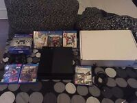 Playstation 4 500GB + 6 Games and extra controller -Mint Condition-