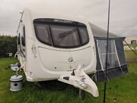 Swift Challenger 580 2011 Family Caravan with Double Bed c/w Awning