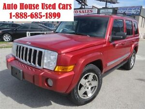 2010 Jeep Commander Sport, Leather, Sunroof, 7 passenger