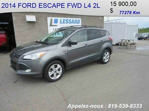 2014 FORD ESCAPE FWD SE