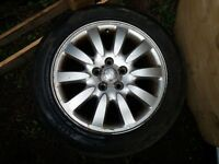 jaguar x type alloy wheels with tyres x 4