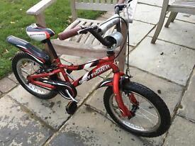 Kids Gary Fisher Gamma Ray 16 inch wheel bike