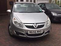 Vauxhall Corsa 1.2 Life 56 plate 84k miles, CHEAP