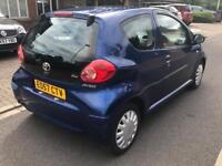 2008 toyota aygo 1 year mot (not yaris jazz micra up polo corsa fiesta nissan honda)