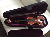 Piacenza Violin size 3/4 with case and bow