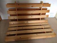Wooden Futon Frame (double size)