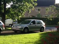 Silver Golf SE 5 door hatchback petrol