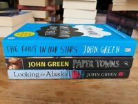 3 x John Green books in very good condition