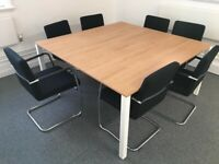 office square meeting table boardroom
