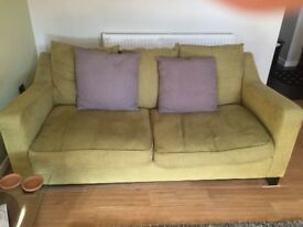 1 x DFS sofa and 1 x DFS sofabed