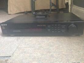 Sony 30 station tuner