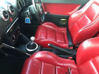 AUDI TT TURBO 275 BHP 2003 RED LEATHER SEATS