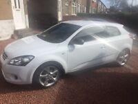 Kia ceed 1.4 hatchback (white)
