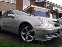 Mercedes C180 Kompressor Avantgarde 2006 Low Mileage