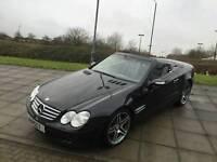Mercedes sl350 convertible stunning car