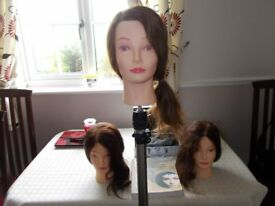 Headkandy hair extensions milk i blush 16 18 second base hairdressing 3xtraining heads and tripod lots of equipment wahl clipper set nvq level pmusecretfo Gallery
