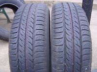 2 x 175-65R-14 FIRESTONE MULTIHAWK TYRES BEEN ON RIMS BUT NOT USED 7.2MM TREAD