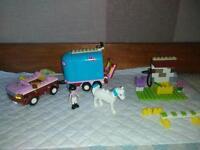 LEGO FRIENDS Emma's HORSE TRAILER