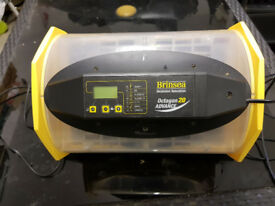 second hand Brinsea octagon 20 advance with autoturn cradle incubator