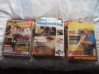 60 Woodworking Magazines