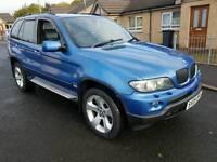 2005 bmw X5 3.0d M Sport 6 speed automatic 4x4 estoril blue may px R32 etc
