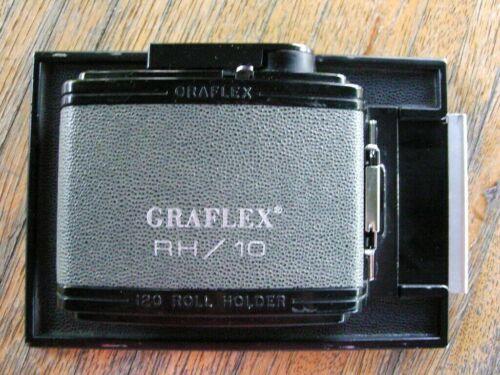 Graflex RH-10 120 Roll Holder 4X5 Film Back