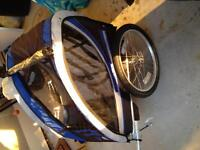 Bike trailer (Bell) pet, child 2 seats great condition