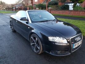 2008 Audi A4 Convertible Fully Loaded Auto Paddle Shift 2.0L diesal Full service history and MOT