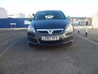 2007 Vauxhall Zafira 1.6 i 16v Life 5dr MPV 7 Seats 09.06.2017 MOT FULL SERVICE HISTORY