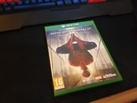 The Amazing spiderman 2 xbox one game excellent condition in case