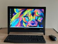 12 Months Warranty 20 inch Lenovo AIO PC Computer 1000 GB HDD, Office Software, Quad Core