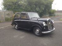 Triumph Mayflower a Classic Car which is tax free and requires no MOT under regulations.