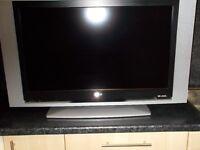 "LG 32"" Lcd Television. Flatscreen. HD ready."