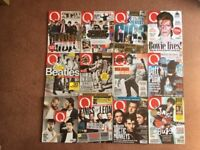 Q Music Magazine - 62 issues including 4 complete years 2013-2017. See photos