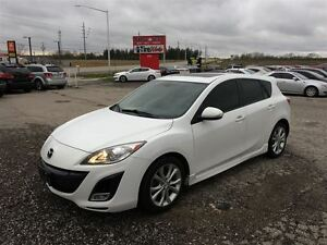2010 Mazda MAZDA3 SPORT GT - NAV - LEATHER - MOONROOF