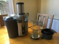 Sage juicer -Sage BJE520UK the Nutri Juicer Plus Centrifugal Juicer - Silver