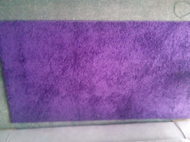Medium purple Rug