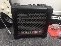 Amplifier ( Roland micro cube)